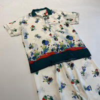 unique print pajamas set up