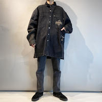 "90s ""PACO JEANS"" black denim jacket"