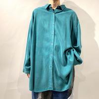 00s oversized rayon shirt