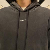 """""""NIKE"""" black sweat hoodie"""