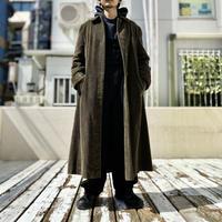 90s corduroy long coat