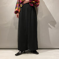 old see-through design wide pants