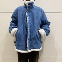 90s B-3type denim jacket