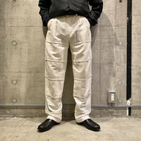 90s linen blend slacks pants