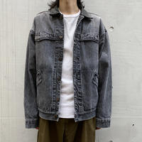 "80s ""The Australian Outback Collection"" design  denim jacket"
