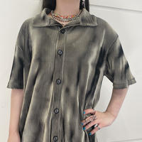 90s~ design striped shirt
