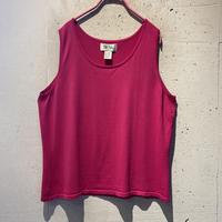 vivid color no-sleeve tops