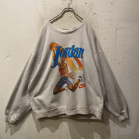 "90s NIKE ""Michael Jordan"" print sweat shirt"