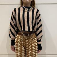old short length striped kint