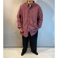 """""""Eddie Bauer"""" oversized L/S flannel shirt"""