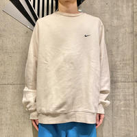 """NIKE"" sweat shirt (BEG)"