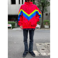 90s half zip nylon jacket