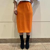90s vivid color poly skirt