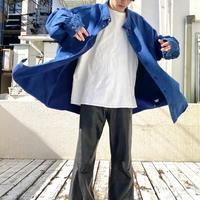 90s~ oversized indigo dyeing shirt
