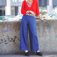 high-waist baggy pants