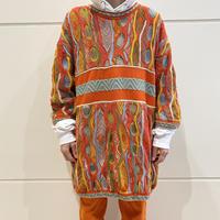 """COOGI"" 4X cotton knit sweater"