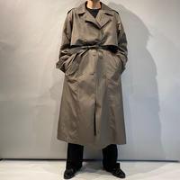90s shiny trench coat