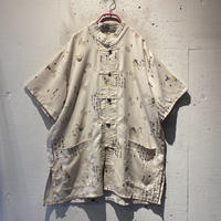 Kanji design S/S China shirt