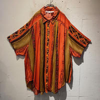 oversized rayon S/S shirt
