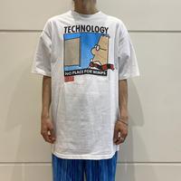 "90s~ ""DILBERT"" printed T-shirt"