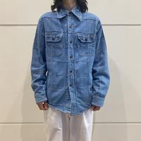 "70s ""CAMPUS"" switching design denim shirt"