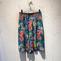 80s〜 flower pattern half pants
