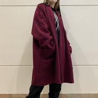 80s wool long coat