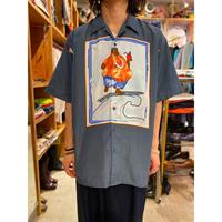 design printed S/S shirt