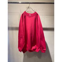 90s plain sweat shirt (PNK)