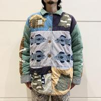 "80s〜""Patch Magic"" reversible design jacket"