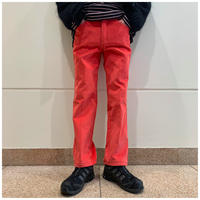 80s corduroy tapered pants