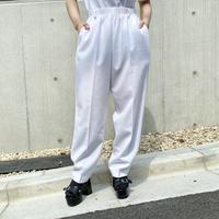 90s easy slacks pants (WHT)