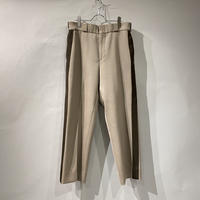 old side line wool slacks pants
