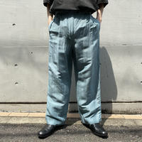 90s 2tucks linen slacks pants