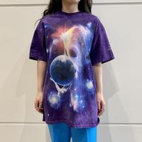old alien printed T-shirt