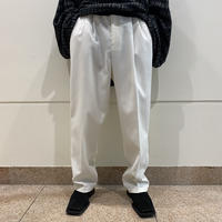 80s 2tucks slacks pants (WHT)