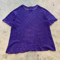 oversized mesh tee (PPL)
