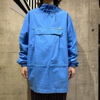 90s cotton design smock shirt