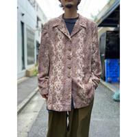 90s〜 python pattern long shirt jacket