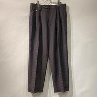 old three tuck slacks pants