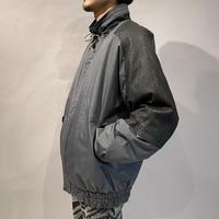 80s switching leather jacket