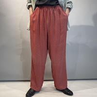 80s〜wide rayon easy pants