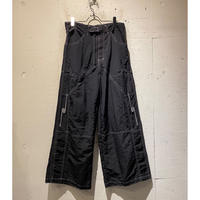 90s〜design nylon wide pants