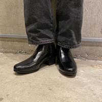 """""""FLORSHEIM"""" side zip heel boots"""