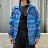 """90s """"Wrangler"""" BRUSHPOPPER all patterned jacket"""