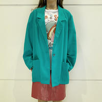 90s easy tailored jacket (GRN)