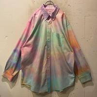 """Brooks Brothers"" tie-dye L/S shirt"