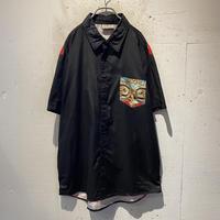 scarf pattern S/S shirt