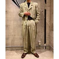 90s〜 long tailored jacket set up