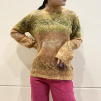 mohair blend knit sweater